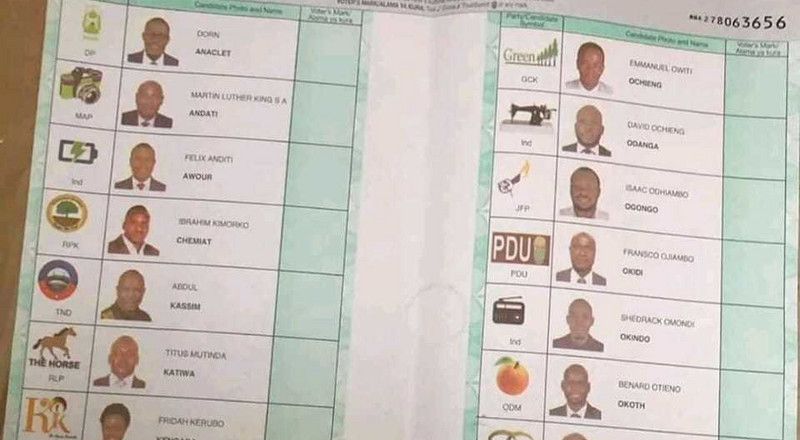 Be Warned about taking pictures of ballot- IEBC tells Kibra voters