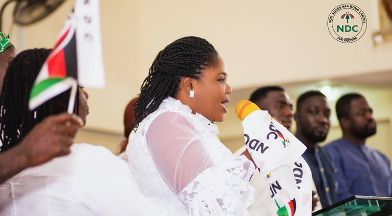 The battle of Krowor: Agnes Naa Momo Lartey's quest to reclaim the seat for the NDC