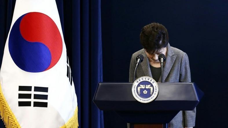 The impeachment of South Korea's President Park Geun-Hye theatens to split the ruling Saenuri Party