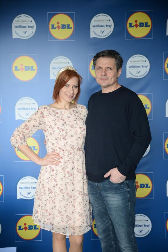 TV lice Marija Veljković i glumac Nebojša Dugalić