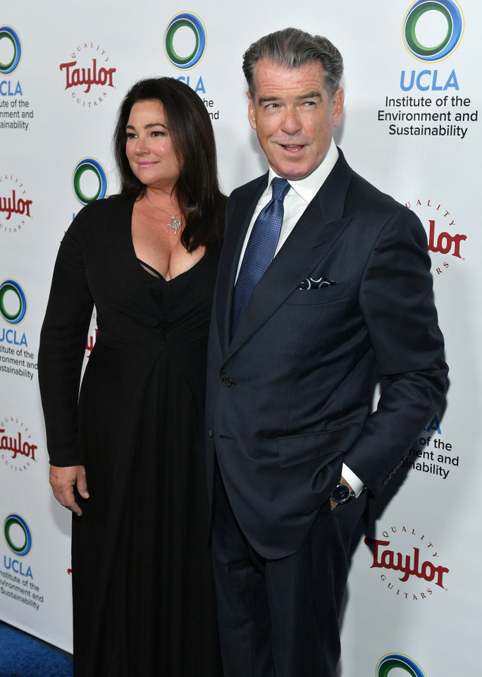 Pierce Brosnan z żoną Keely Shaye Smith