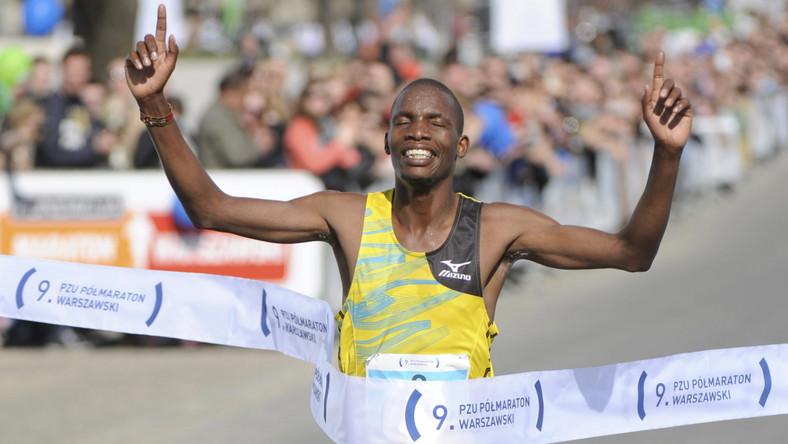 Kenijczyk zwycięzcą półmaratonu warszawskiego