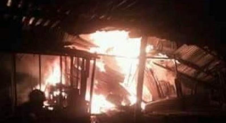 Another fire razes down property in Gikomba