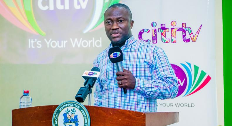 Mohammed Nii Adjei Sowah, Chief Executive Officer of AMA