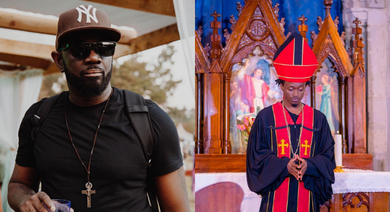 Bahati's savage claps back at G Money after saying he doesn't know him (Screenshots)