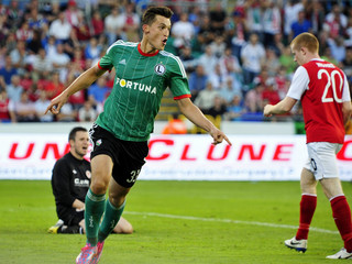 Michał Żyro Legia St Patrick's Athletic