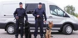 Wóz dla policyjnych psów