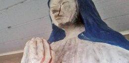 Cud w kaplicy? Posąg Maryi roni krwawe łzy