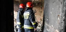 Pożar na Kruczej. Strażacy znaleźli zwęglone ciało