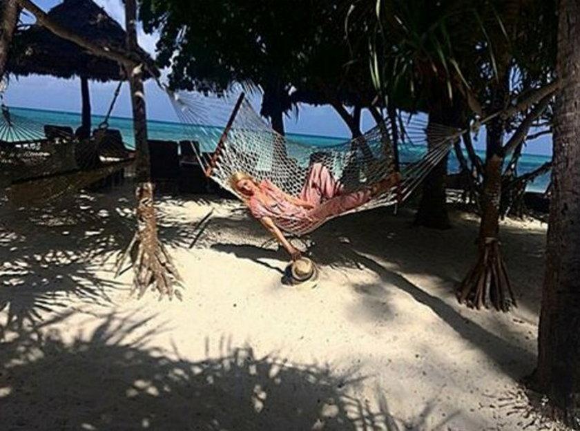 Joanna Horodyńska na Zanzibarze