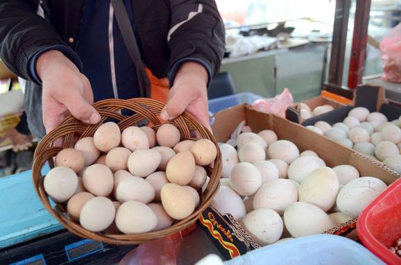 Najviše jaja uvezeno iz BiH, Mađarske, Češke, Hrvatske, Nemačke, Poljske i Slovačke