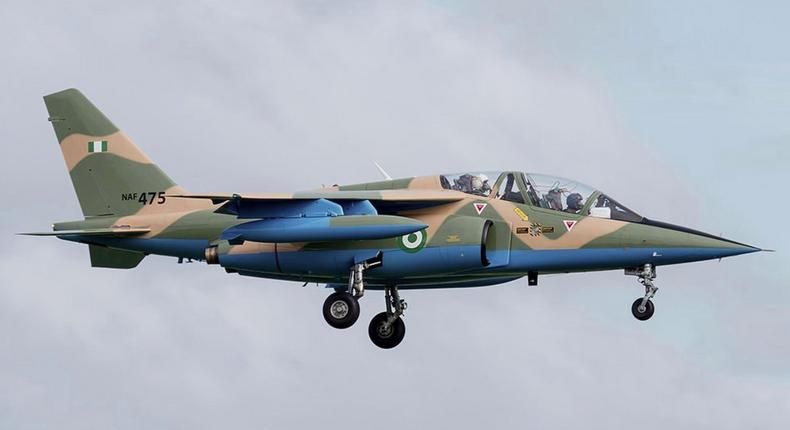 NAF says the aircraft was not carrying bombs as reported (image used for illustration) [NAF]