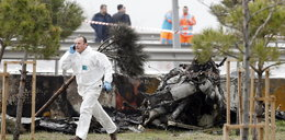 Helikopter runął na autostradę. Są zabici