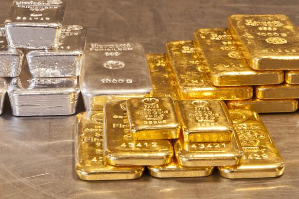 Niemcy, złote i srebrne sztabki w Monachium