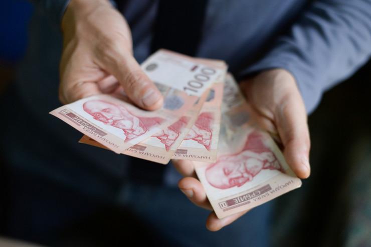 dinari, novac, plata