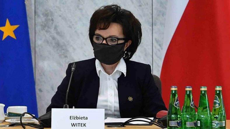 Marszałek Sejmu RP Elżbieta Witek