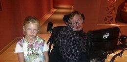 Spotkała się z... Hawkingiem!