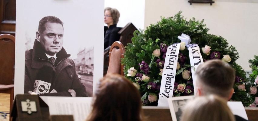 Pogrzeb Rafała Poniatowskiego. Bliscy pożegnali dziennikarza TVN24 [ZDJĘCIA]