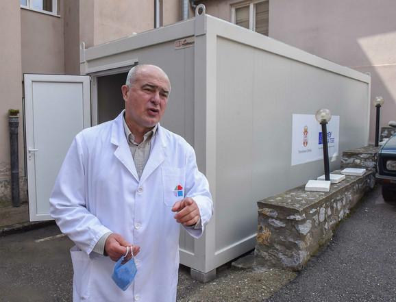 Dragan Vasiljević direktor Instituta za javno zdravlje Kragujevac