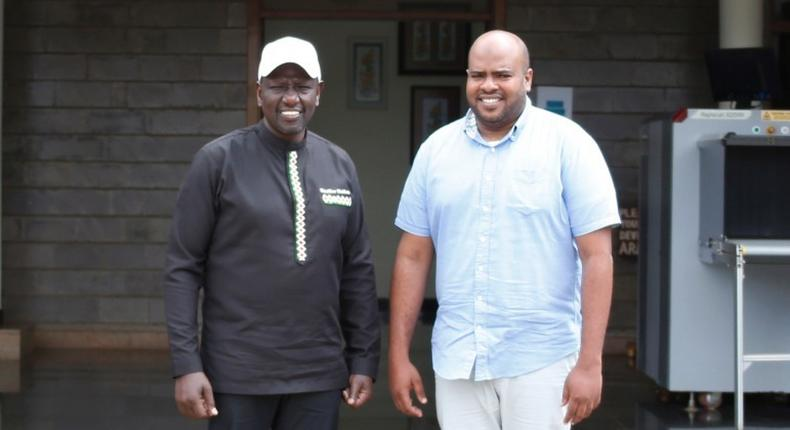 Deputy President William Ruto unveils new Msambweni MP seat aspirant Feisal Bader