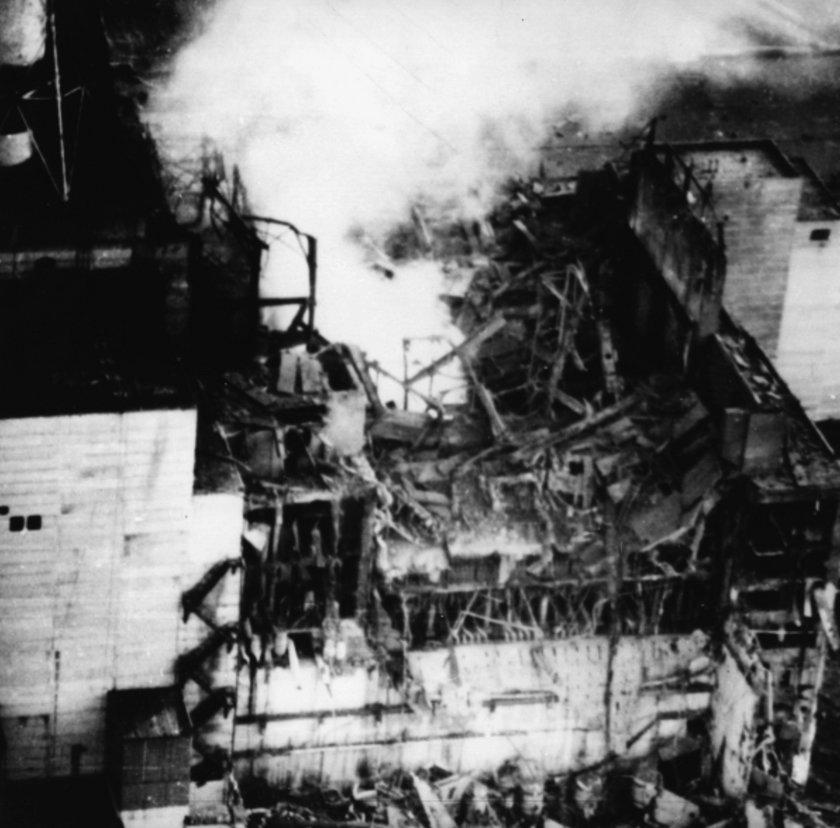Katastrofa atomowa na Czarnobylu