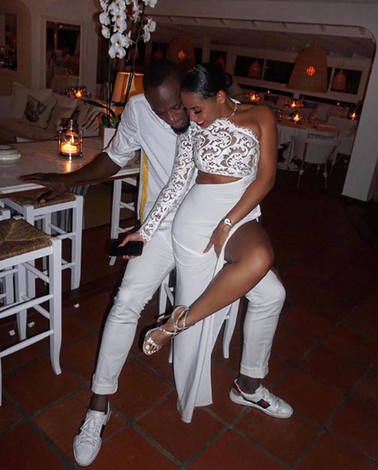 Jusain Bolt sa devojkom