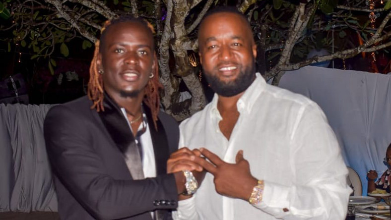 Governor Hassan Joho with Willy PAUL