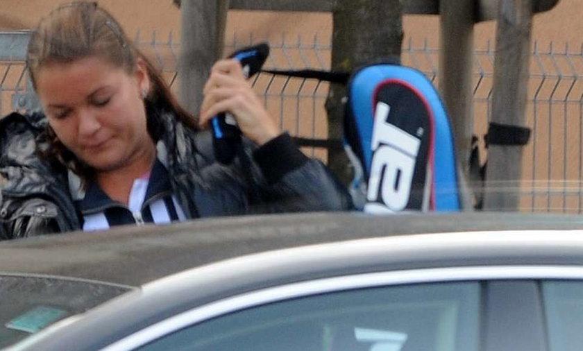 Radwańska wolała trening niż kamery