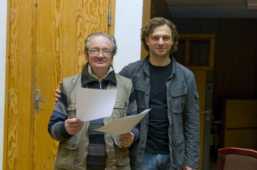 Grzegorz Damięcki z mężem Damianem