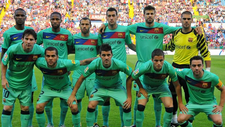 Barcelona jest faworytem finału Ligi Mistrzów