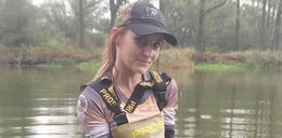 Piękna 29-latka złowiła rybę giganta. Zapiera dech