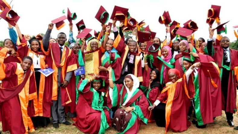 UNILAG Graduating Students. Photo: Pulse