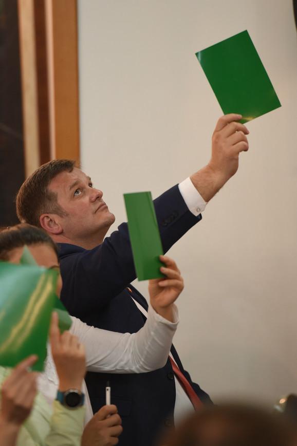 Direktor VK Crvena zvezda i generalni sekretar Sportskog društva Igor Milojević podržao je Jelenića