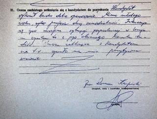 Przyłębski: Niewykluczone, że szantażowany mogłem podpisać jakieś zobowiązanie