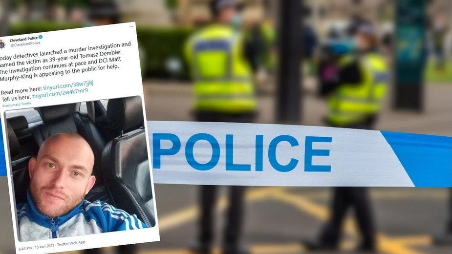 Anglia: W Middlesbrough znaleziono ciało Polaka. Mógł zostać zamordowany
