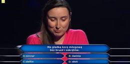 """""""Milionerzy"""". Padło pytanie za pół miliona! Co ma gładką korę mózgową bez bruzd i zakrętów?"""