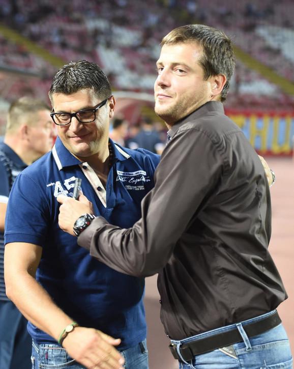Vladan Milojević i Nenad Lalatović