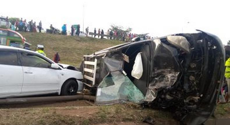 Several vehicles involved in grisly accident