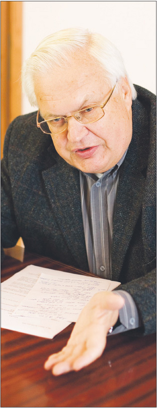 Jan Błeszyński, profesor zwyczajny na Wydziale Prawa i Administracji UW, specjalista w zakresie prawa cywilnego, autorskiego oraz własności intelektualnej, radca prawny, konsultant prawny wielu organizacji autorskich, ekspert rządowy i parlamentarny przy pracach nad nowelizacją prawa autorskiego Fot. Marek Matusiak
