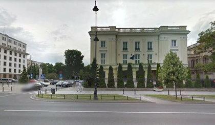 Pożar w ambasadzie Węgier. Dym odciął drogę ucieczki