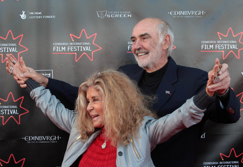 Sean Connery i Micheline Roquebrun (2009)