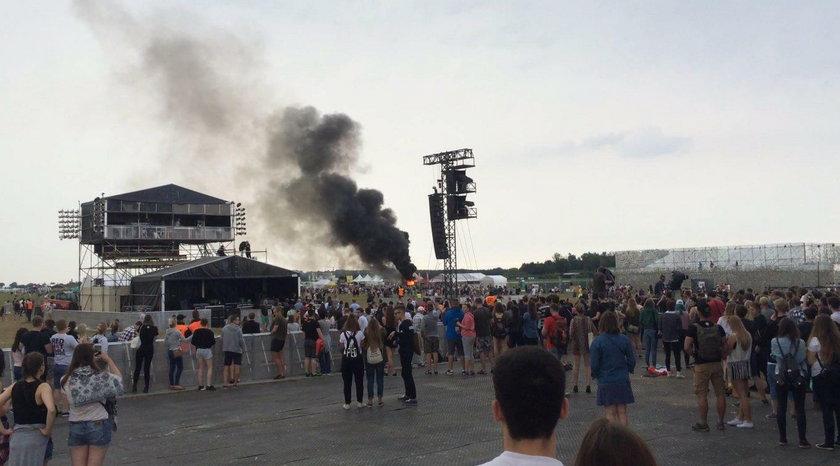 Pożar na Openerze