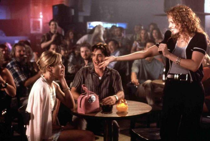 """Kameron Dijaz, Dermot Malruni i Džulija Roberts u filmu """"Venčanje mog najboljeg druga"""""""