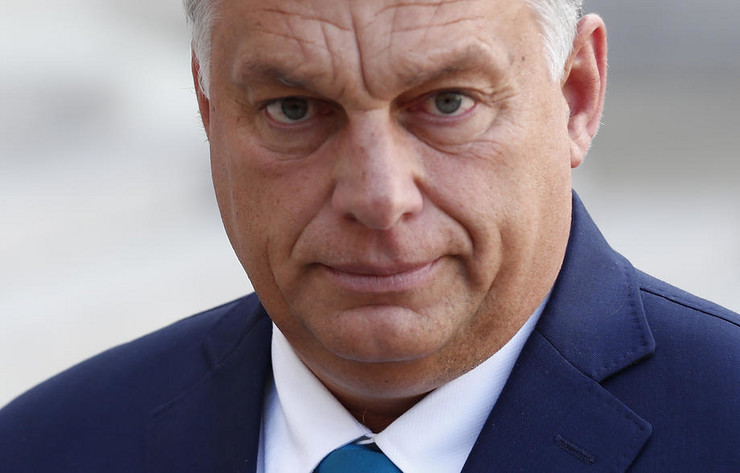 Viktor Orban EPA IAN LANGSDON