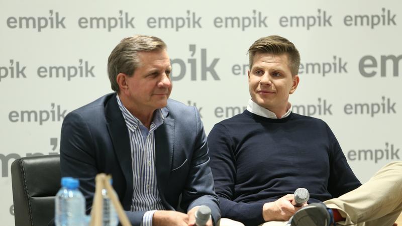 """Filip Chajzer i Zygmunt Chajzer na promocji książki """"Chajzerów Dwóch"""""""