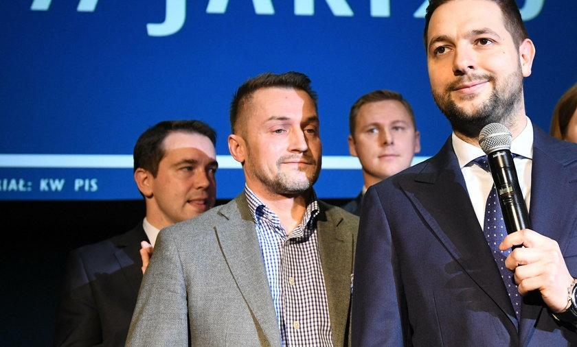Piotr Guział i Patryk Jaki