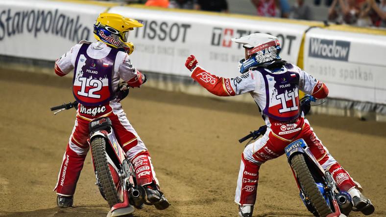 Maciej Janowski i Bartosz Zmarzlik
