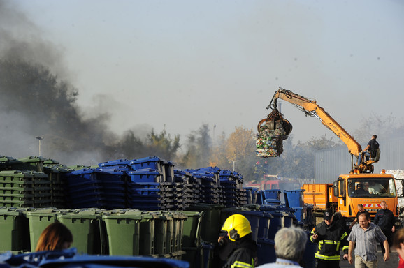Požar u pogonu