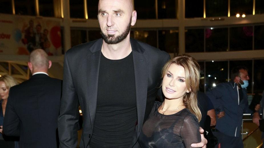Marcin Gortat i Żaneta Stanisławska