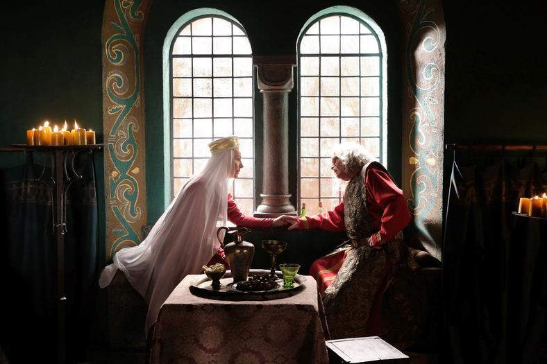 """""""Korona królów"""" - kadr z serialu (fot. Marcin Makowski)"""